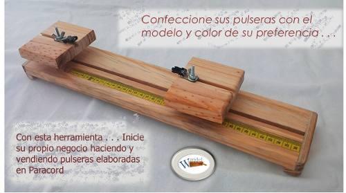Prensa Telar Para Hacer Pulseras Con Cordones De Paracord
