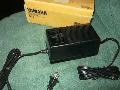 Adaptador Yamaha Pa6,original 12 Volt Made In Japan