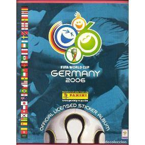 Album Futbol Mundial Alemania 2006 Panini Lleno Football