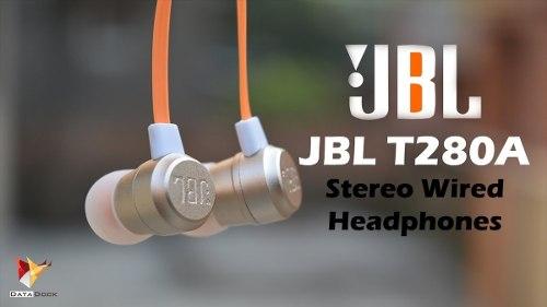 Audifonos Jbl Purebass T280a