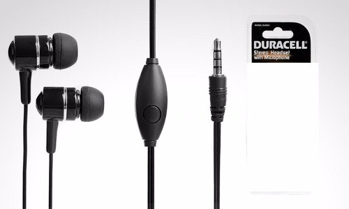 Audifonos Manos Libres 3.5mm Duracell Universal Mp3 Mp4
