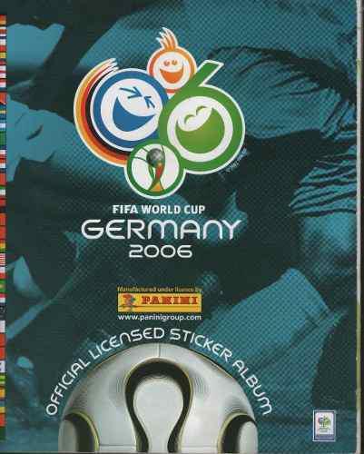 Barajitas Album Panini Mundial De Futboll Alemania 2006