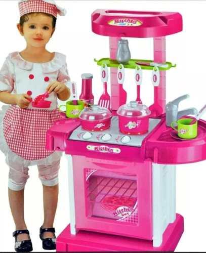 Cocina De Juguete Para Niña. Kichen