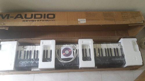 Controlador Teclado Piano M-audio Keystation 88 En Miranda