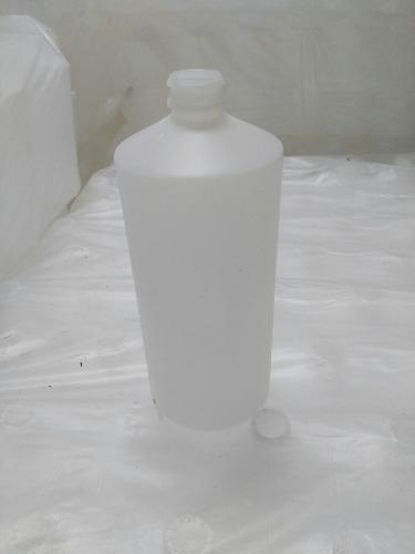 Envases Plasticos Litro Tipo Alcohol Tapa Presion