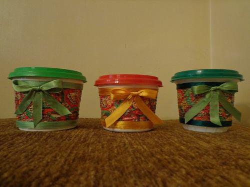 Envases Plásticos De Margarina (vacios)