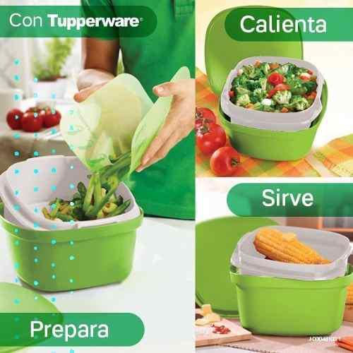 Envases Tupperware,plato,vianda,taza Calentar En Microonda
