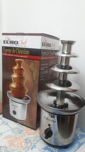 Fuente De Chocolate Euro Chef Linea Profesional Nacho Store