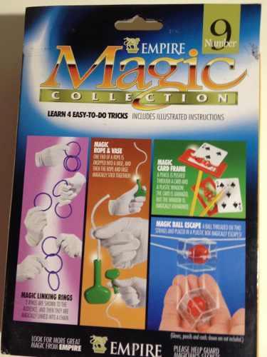 Juego De Magia 4 En 1.