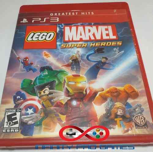 Juego Fisico Lego Marvel En Español Para Ps3 Garantia