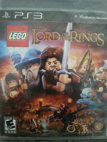 Juego Ps3 El Señor De Los Anillos Lego The Lord Of The