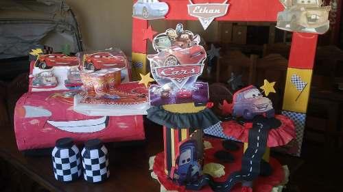 Kit De Fiesta De Rayo Macuin Cars, Muy Completo