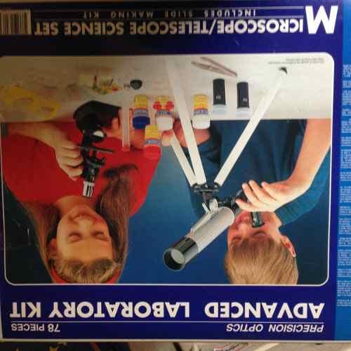 Kit Juego De Ciencias Microscopio Y Telescopio