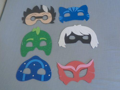 Mascaras En Foami Para Fiestas Infantiles O Carnavales