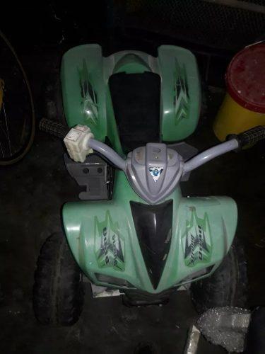 Moto Electrica De 4 Ruedas Plasticas.