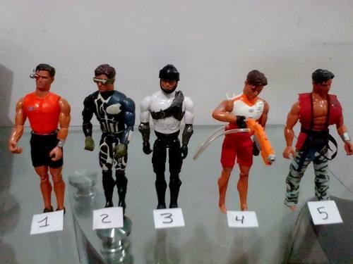 Muñecos Max Steel Usados En Perfeto Estado
