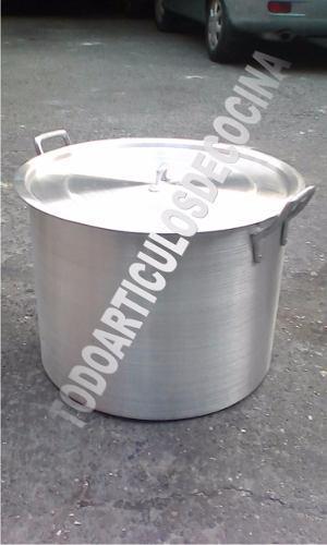 Olla Mondonguera De Aluminio Fuerte 100 Litros