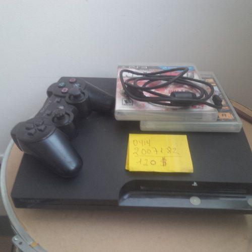 Playstation 3 Slim 160 Gb + 1 Control 3 Juegos.