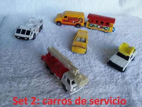 Remate Carritos Vintage Matchbox, Hot Wheels, Otros Cada Set