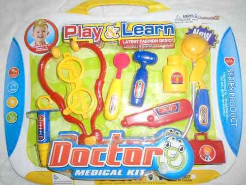 Set De Doctor Para Niños Doctora Juguete Regalo