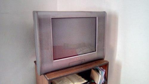 Televisor Sony Trinitron 21 + Control Venta De Garaje