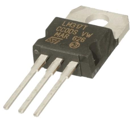 Transistor Regulador Voltaje Variable Lm317t Lm317 Nte956