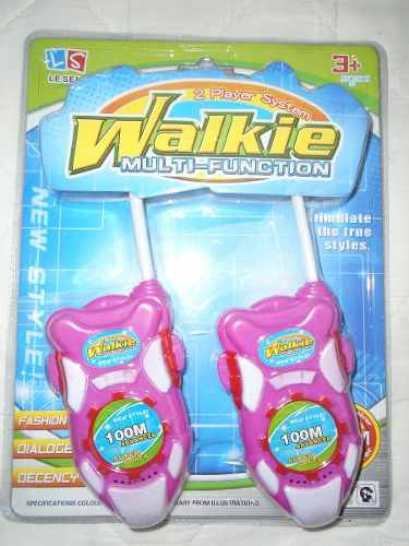 Walkie Takie Niñas Juguete Radio Regalo