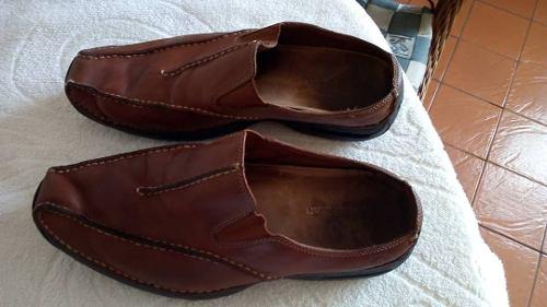 Zapatos, Tipo Sueco De Cuero Nike Air Talla 9