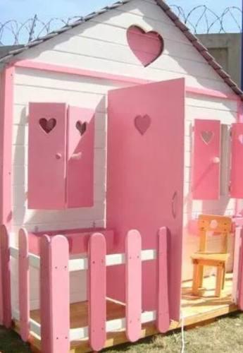 Casa De Niños En Madera
