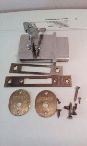 Cerradura Embutir Con Cilindro Seguridad 45 Mm Phillips