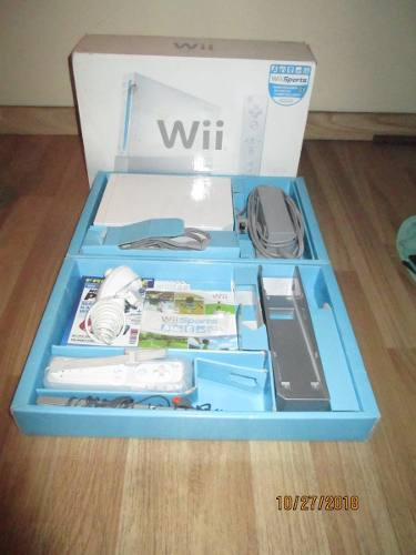 Consola Nintendo Wii Con Juego Wii Sport Incluido