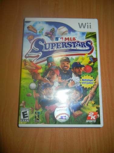 Juego De Nintendo Wii Original Mlb Super Stars