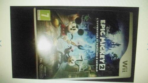 Juego Wii Epic Mikey 2 Original Sin Rallas