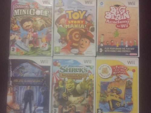 Juegos De Wii Y Xbox