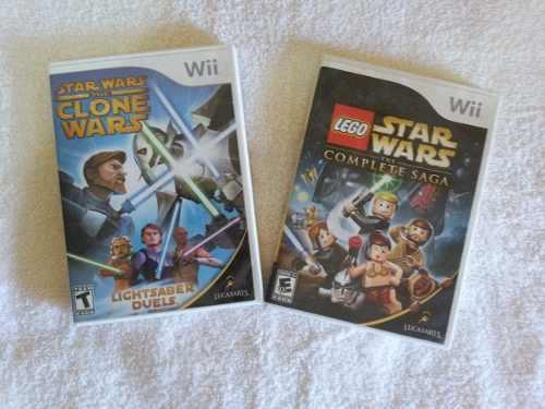 Juegos Wii Originales Star Wars