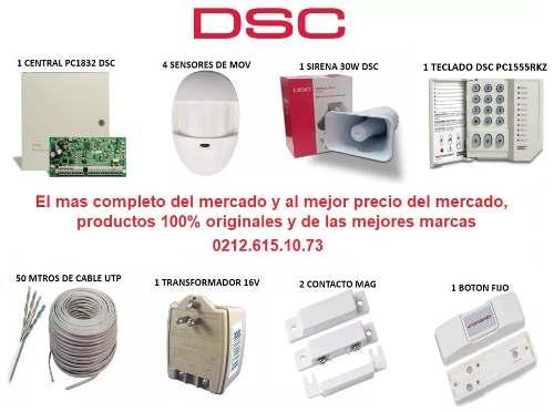 Kit De Alarma Dsc  El Mas Completo Del Mercado