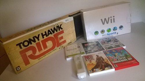 Nintendo Wii + 7 Juegos Originales