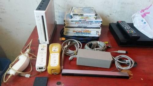 Nintendo Wii Con 16 Juegos