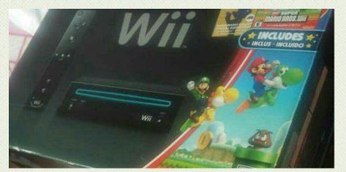 Nintendo Wii Consola + Accesorios + Original