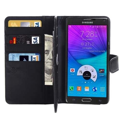 Para Galaxy Note 5 Estuche Funda Cuero Caballo Urdf