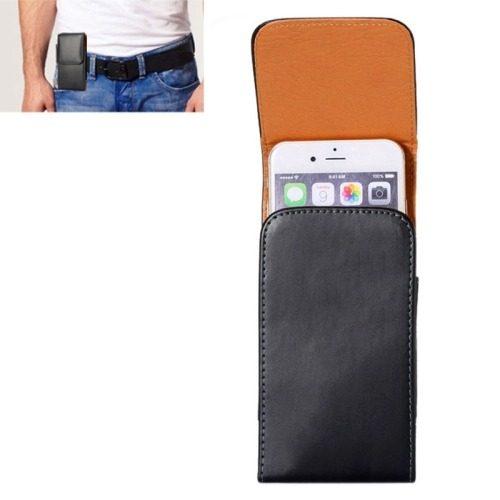 Para Iphone 6 Caja Caballo Vertical Cuero Bolso Cintura