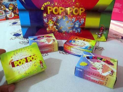 Petardos En Forma De Cebollitas Pop Pop Pirotécnicos X Caja