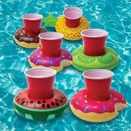 Porta Vasos, Inflables, Flotadores, Pool Party, Candy Bar