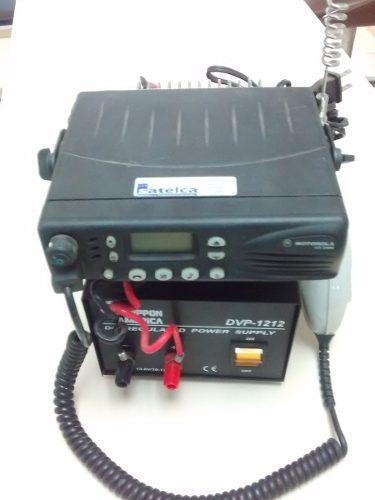 Radio Base Movil Motorola Modelo Lcs Y Fuente De Poder