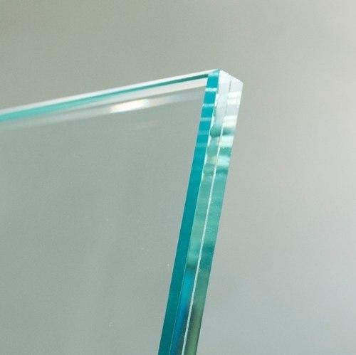 Vidrio Laminado De Seguridad Tipo Bancario Claro 10 Mm