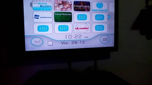 Wii Original Con Dos Controles Sin Chispeó. Dos Juegos Orig