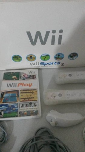 Wii Sports (Sin Chipear) 2 Controles + Juego Sports