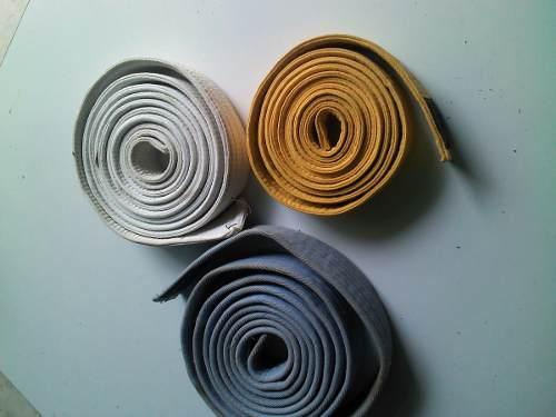 2cintas Para Karate Bushido C/u (usadas)