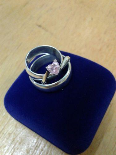 Aros Matrimonio Mas Compromiso Plata Ley 950 Garantizada