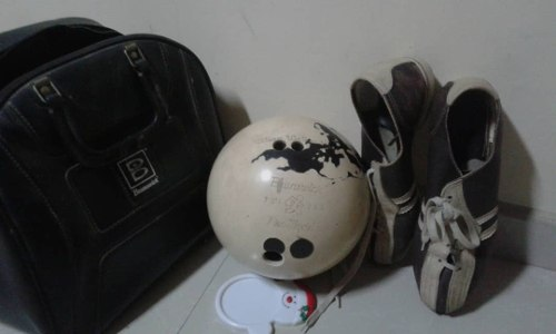 Bola De Bowling Brunswick+zapatos+bolso